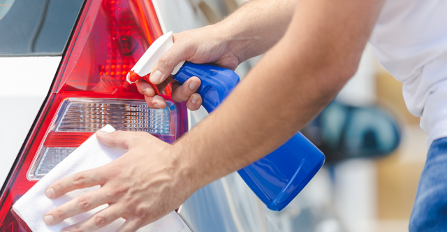 Waterless Cleaning For A Sparkling Ride