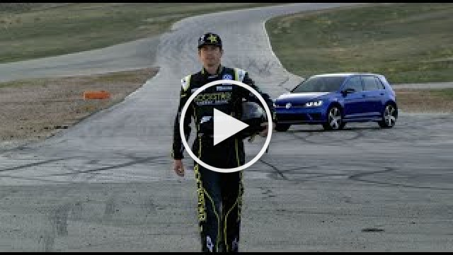 "Volkswagen Golf R ""Tanner Foust Unleashes His Rrr"""