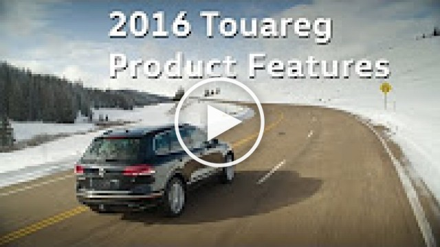 2016 VW Touareg - Stylish SUV | Volkswagen